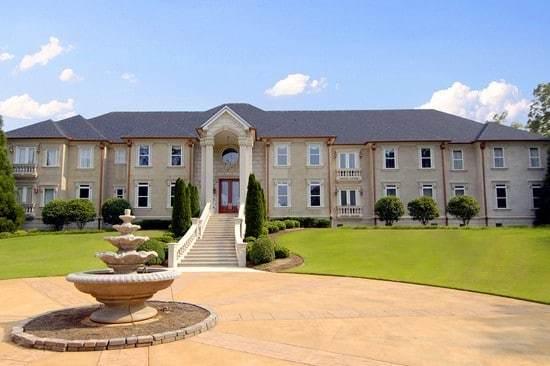 Tyler Perry's House In Fairburn GA